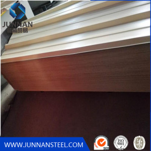 Manufacture professional pressd color corrugated steel roofing sheet