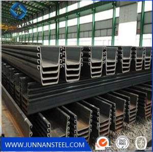 Hot Rolled U Type Steel Sheet Pile 400X100mm Sy295