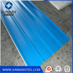 corrugated sheet steel beams for highway guardrail
