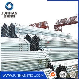 Hot DIP Galvanized Round Steel Pipe From Tangshan