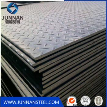 aluminum checkered sheet/Checkered steel plate Mild tear drop steel plate 12mm thick SS400