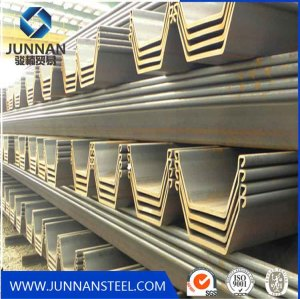 U Shape Hot Rolled Steel Sheet Pile/Piling Beam