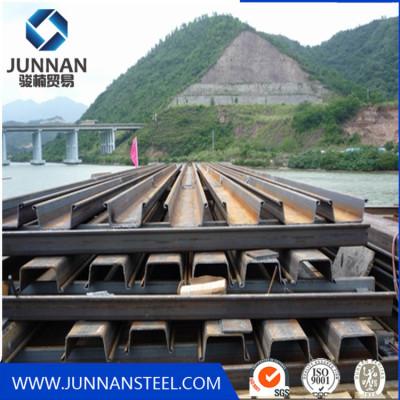 Q345B Steel Sheet Piles U Type for  Building Harbor
