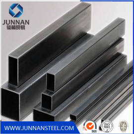 galvanized square rectangular steel tube erw carbon pipe hollow section