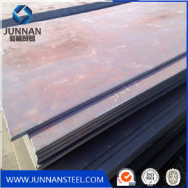 ASTM A36 Coated Plain Carbon Hot Rolled Steel Plate