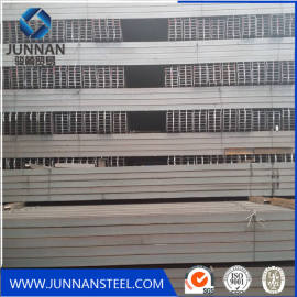 Q235/Q345/SS400 structural steel section h beam size chart