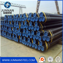 ASTM A106 Cold drawn black painting Seamless carbon Steel Pipe