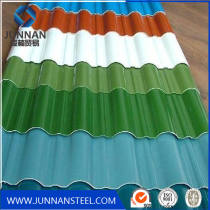Glazed Deco PPGI Corrugated Roofing Sheets