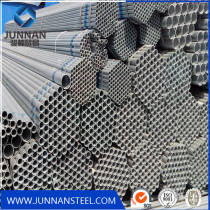 ISO certification and non-secondary galvanized round steel pipe