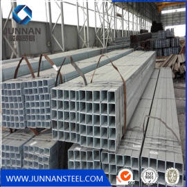 HOT dipped galvanized square steel pipe/tube structure building material