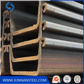hot rolled q235b q345b sy295 material U type steel sheet pile