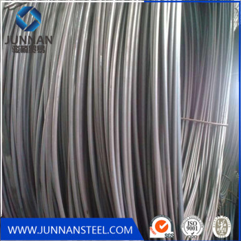 SAE1008B low carbon hot rolled steel wire rod in coil
