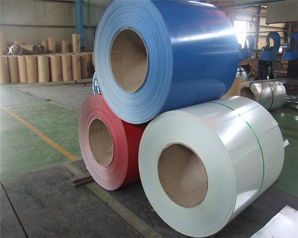 600-1250mm width prepainted galvanized steel