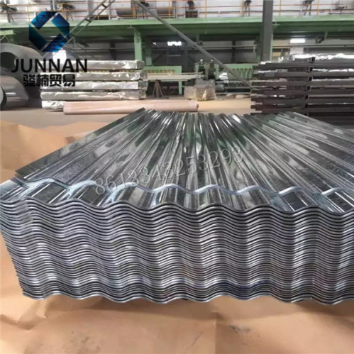 Galvanized sheet metal roofing price gi corrugated steel for T g roofing