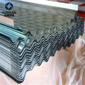 SGCC DX51D Galvanized gi corrugated metal roofing sheets