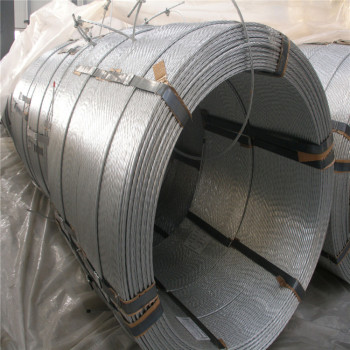 12.7mm 7 wire prestressed concrete pc steel strand for Bangladesh market