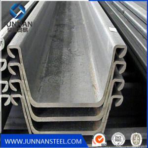 Q235 water-resisting u type hot rolled used Steel Sheet Pile for sale