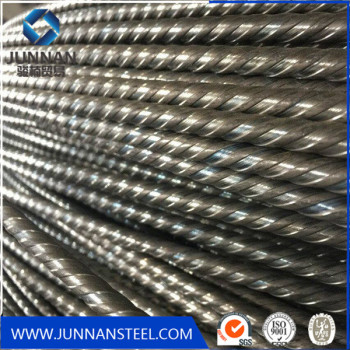 1670MPA  Non alloy PC wire Spiral ribbed low relaxation