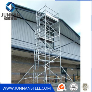 Standard Size Steel Galvanized Frame Scaffolding For Construction