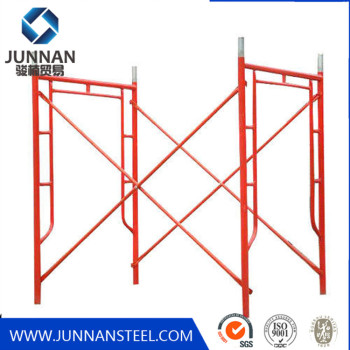 China factory price HDG Frame Scaffold for Outdoor and Indoor