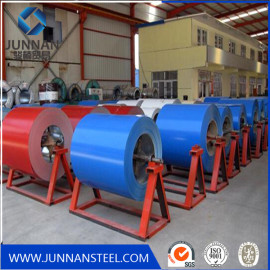 Prepainted PPGI steel coil for producing roofing sheet