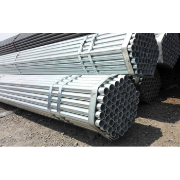 Introduction of the use of galvanized pipe?