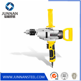 Rechargeable cordless brushless electric mixer with drill function