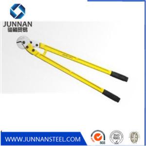 Heavy Duty T8 Alloy Steel Manual Steel Wire Rope Scissors