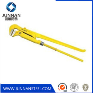 90 Degree Drop Forged Carbon Steel CrV Swedish Bent Nose Pipe Wrench Factory
