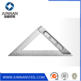 High Quality 7inch 12inch Custom Aluminum Triangle Angle Square Ruler