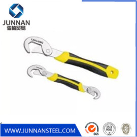 Universal multi function snap and grip wrench spanner