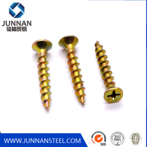 #7 coarse fine thread phosphoric drywall screw with double thread self-tapping screws needle point double threaded wood screws