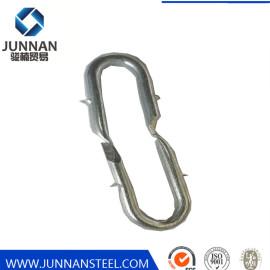 Galvanized U type staple iron nail