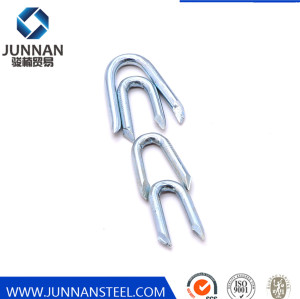 Barbed Shank Fence Staples / Barbed Shank U Nail / Fence Staple