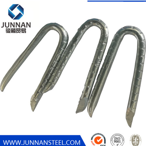 Quality u type nail sod landscaping galvanized garden cloth turf staples nails