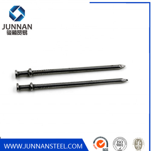 Factory Polish Galvanized nails Two Double Head Wire Duplex Nail