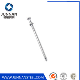 China Factory Polish Galvanized Two Double Head Wire Duplex Nail