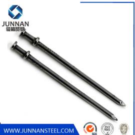 6D Polish Duplex Head Nails 25 kg per carton Tianjin Manufactory