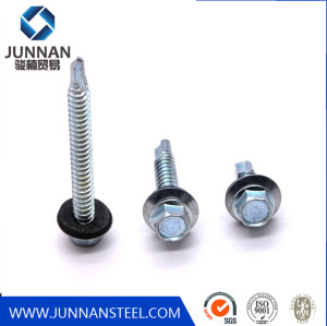 Galvanized Hex Self Drilling Screws Roofing Plating Color Hexagon self Drilling Screw for Wood