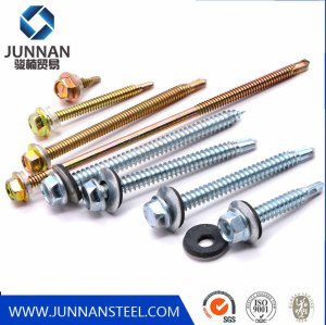 Roofing Screw, Chinese factory direct hot sale all kinds of head type full size Self Drilling Screw