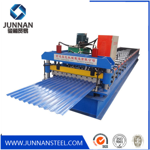 G550 Mpa Plate Run Roofing Sheet Roll Forming Machine