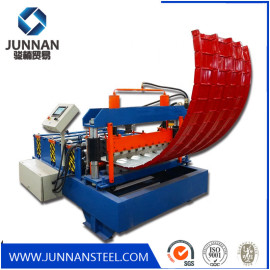 glazed roof tile double layer roof sheet roll forming machine