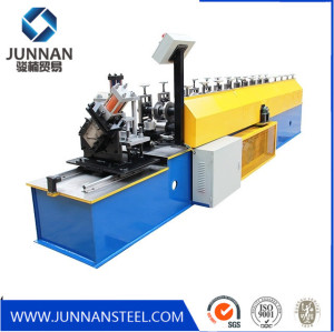 Automatic light gauge steel framing Metal Vineyard Post Grape Frame Rolling Forming Machine Manufacturer