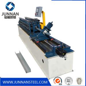 China Forward light gauge steel keel roll forming machine