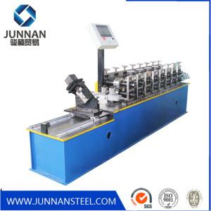 Steel c channel roll forming machine C Z U L W shape profile section light steel keel machine