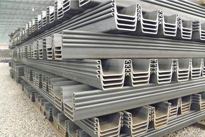 steel sheet pile installation