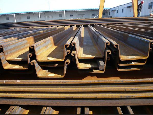 hot rolled/rolling z shaped steel sheet pile