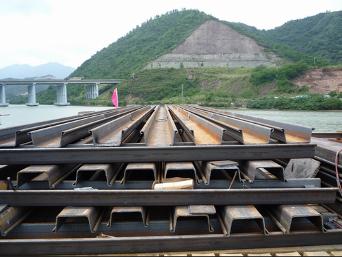 hot rolled/rolling z shaped steel sheet pile