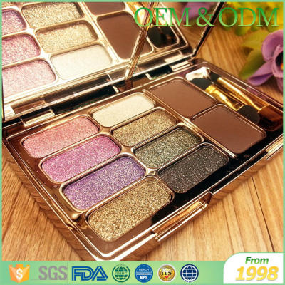 Colorful OEM popular eye shadow women makeup cosmetics eye shadow