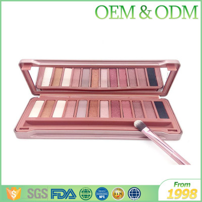 Professional low price cosmetics eye makeup shadow shinning eye shadow makeup